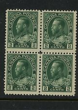 Canada  107     Mint   block   catalog $110.00  RL1207-103