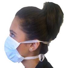 50 Quality Examination Masks & Ties Medical Profession Dentist and Vets Dental