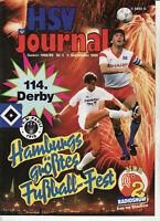 BL 88/89 Hamburger SV - FC St. Pauli, 03.09.1988