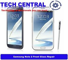 Samsung Note 2 Note II Front Glass Replacement Repair Service