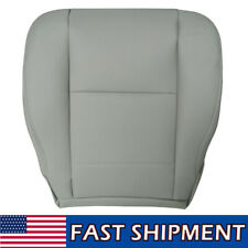 Fits 2000 To 2004 for Toyota Sequoia Tundra Driver Bottom Seat Cover Gray Leathe