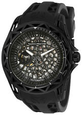 TechnoMarine Men's Technocell TM-318022 47mm Black Dial Silicone Watch