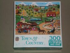 MASTERPIECES 300 Large Piece Jigsaw Puzzle TOWN & COUNTRY - SHARE IN THE HARVEST