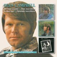 Glen Campbell - Glen Travis Campbell/I Knew Jesus/I Remember Hank (2013) 2CD NEW