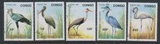 Congo - 1992 oiseaux set-f/u-sg 1312/16 (d)