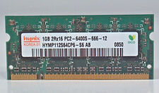 Hynix HYMP112S64CP6-S6 AB Laptop So-Dimm RAM Memory 1GB DDR2 PC2-6400S-666-12