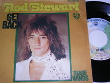 "7"" - Rod Stewart (Beatles Coverversion) Get Back & Trade Winds - 1976 # 5544"
