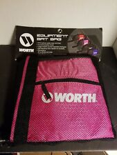 Worth Pink Black Equipment Bat Bag Baseball Softball Holds 2 Bats New