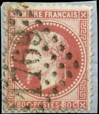 France Scott #36a Used on Paper  Carmine