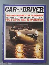 R&L Mag: Car & Driver February 1965 Dodge Dart/Ford Galaxie 500/Bond Goldfinger