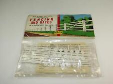 AIRFIX OO/HO MODEL RAILWAY KIT Fencing & Gates Unmade in Rare Type 2 Bag