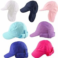 405f13e4 Kids Sun Hat Legionnaire Cap Summer Neck Protection Flap Boys Girls Toddler  2-8