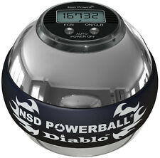 NSD Powerball 350Hz Metal Diablo - PB588C Silver - 350hz Power Ball and Counter