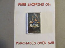 SEALED MAVERICK W/MEL GIBSON THE SOUNDTRACK CASSETTE