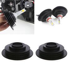 1Pair Universal Headlight Dust Cover Cap 3.2cm For LED HID Xenon Halogen Bulb