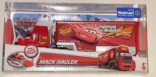 DISNEY PIXAR CARS MACK HAULER RUST EZE LIGHTNING MCQUEEN BRAND NEW RARE WALMART