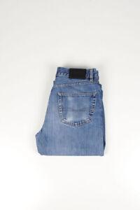 30915 HUGO BOSS Arcansas Blau Herren Jeans IN Größe 32/32