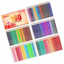 Soucolor 160 Colored Pencils Set Artist Drawing Coloring Pencils for Adult Co.
