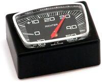 Historisches Rally KFZ Auto Thermometer 1982 mit Halter RICHTER / HR Art. 4651
