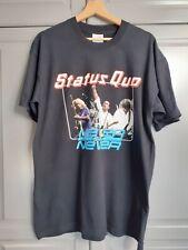 VINTAGE STATUS QUO 2001 TOUR T-SHIRT - SIZE L - FREE POSTAGE!