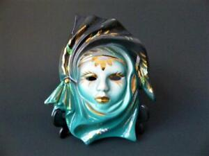 Vintage 1960's/70's Wall Mask, Wall Art, Wall Hangings, Wall Plaques