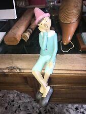 Pinocchio seduto che sogna... Splendido oggetto da collezione. Prezzo ridotto