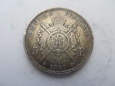 France 1869 5 Francs Napoleon III