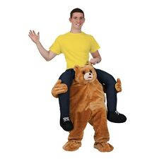 Carry Me Peluche Mascota Oso Deportes Mascota Deluxe Novedad Fancy Dress Costume