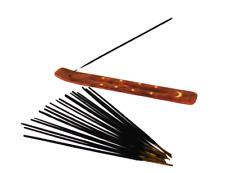 20 Sticks White Sage Smudging Incense Holder Get RID Ghost Remove Negative Ener