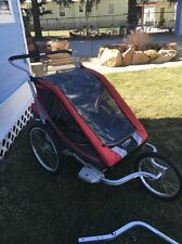 CHARIOT Carriers Cougar 2 W/BIKE TRAILER & JOGGER kits CTS Child Carrier