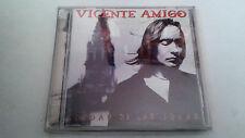 """VICENTE AMIGO """"CIUDAD DE LAS IDEAS"""" CD 8 TRACKS COMO NUEVO"""