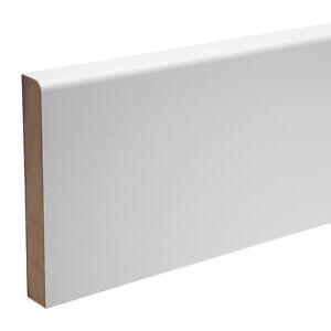 Skirting Boards - Pre-finished MDF - KOTA - Bullnose - 119 x 18 x 4400mm