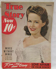 True Story Magazine February 1942 Love Affair In Palm Beach