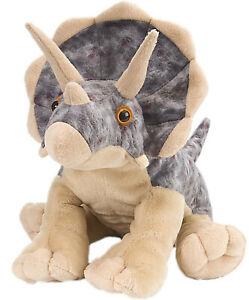 Triceratops Dinosaur Plush Stuffed Toy 30cm 12inch by Wild Republic Cuddlekins