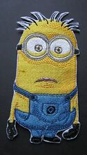 Despicable Me Large Minion Staring Forward Looking Confused Embroidered Patch Ba