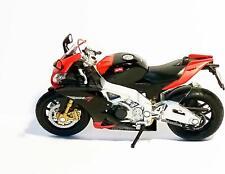 APRILIA RSV 4 Factory scale 1:18 rot Bike Superbike Motorrad Modell Welly Box 45