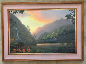Make offer-Walfrido Garcia Original Oil on Canvas 'Promise and Hope'
