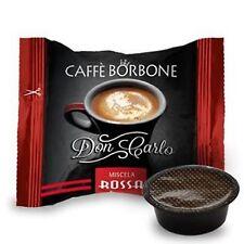 200 capsule caffè BORBONE miscela ROSSA comp. Lavazza a Modo Mio rosso cialde