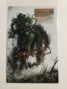 Rising Rebels #4 Variant - Signed Clayton Crain with COA