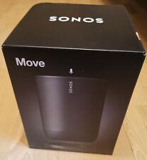 Sonos Move WLAN Bluetooth Smart Speaker schwarz, NEU/OVP - versiegelt