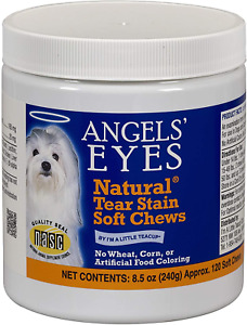 Angel's Eyes NATURAL Tear Stain Prevention Soft Chews for Dogs - 120 Ct - Chicke