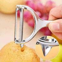 Stainless Steel Rotary Potato Peeler Vegetable Fruit X7R1 Kitchen Tool' Pee B9L4