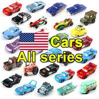 Car Toy All Series Lightning McQueen Mattel Disney Pixar Cars 1:55 Diecast Model