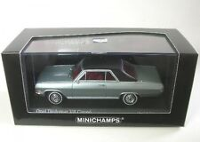 MINICHAMPS 1/43 1965 OPEL Diplomat V8 Coupe in Laplatasilber Silver 400 048020