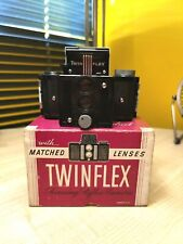 "Univex Twinflex miniature ""TLR"" camera (boxed)"