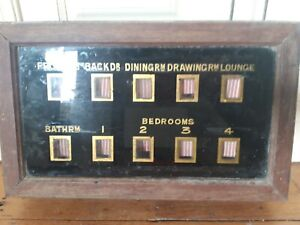 Servants and butlers bell box