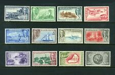 BARBADOS 1950 Set of 12  SG271-282  MLH / LMM