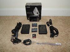 Casio EX-FS10 Exilim 9.1MP Digital Camera - Silver w/ Accessories