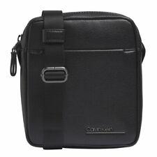 Calvin Klein CK Bombe Mini Reporter Umhängetasche Tasche Black Schwarz