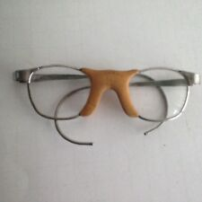 9288d213d0 VTG Antique All American Athletic Eyeglasses Prescription Rx Small Metal  Frame